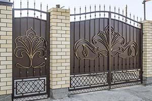 Кованые ворота, калитки и заборы. Анапа, Краснодар.
