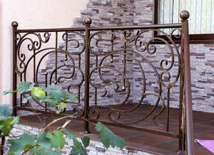 Балконные и лестничные ограждения