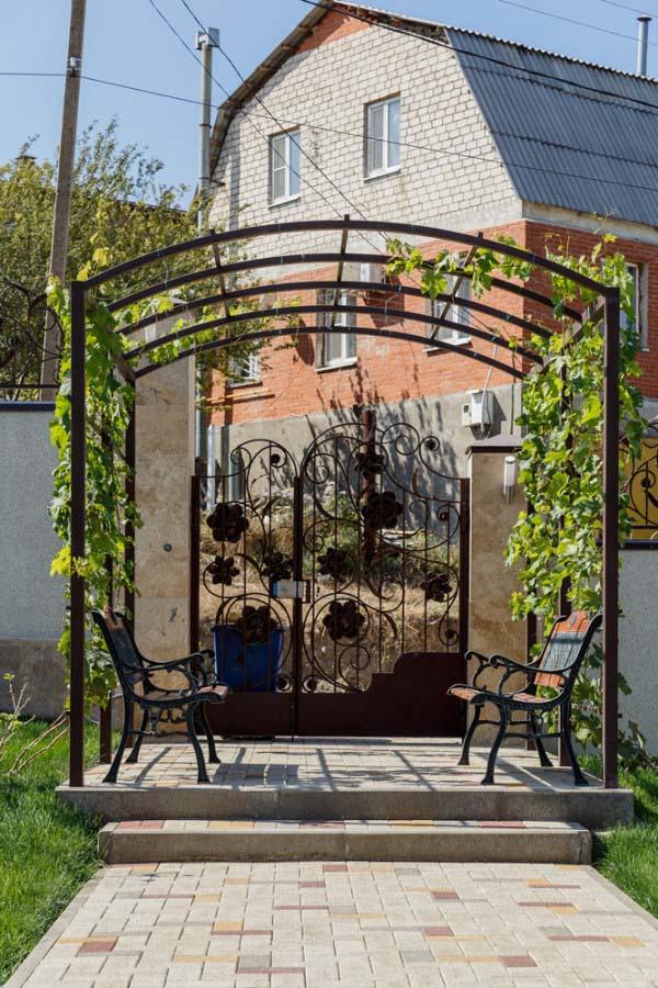 Пергола под виноград
