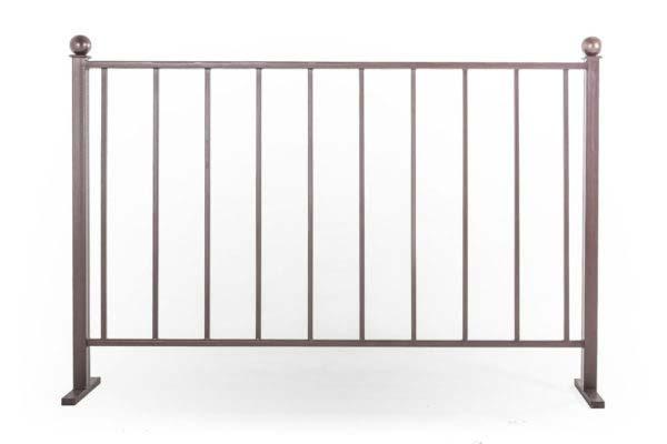 Ограждения балконные прямые, без рисунка (арт. ОБП)