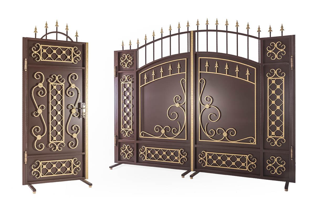 Ворота и калитки серии Стандарт