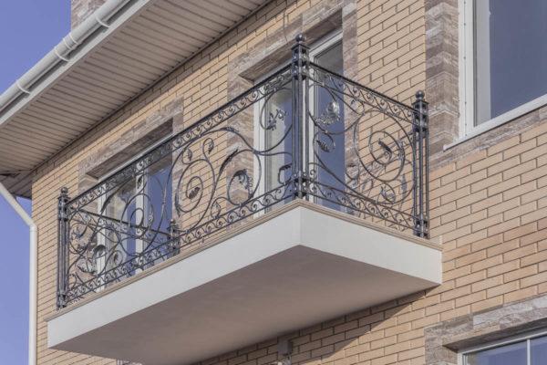 Балконное ограждение — ст. Гостагаевская