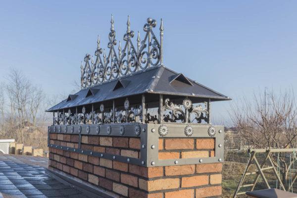 Колпак на дымоход — ст. Гостагаевская
